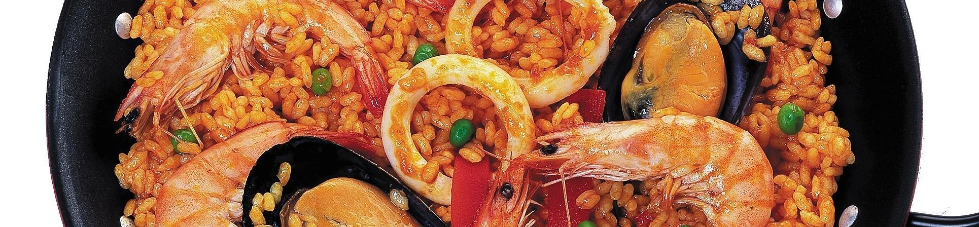 Paella de marisco surgelata - vendita online
